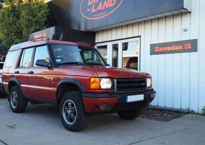 Land Rover Discovery II, TD5, 2001