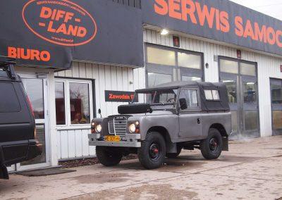Land Rover Seria III 88 1975