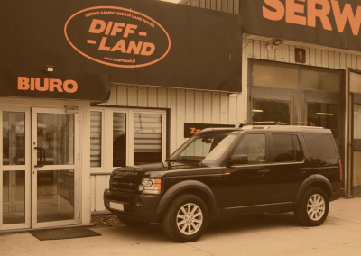 Land Rover Discovery III 2008