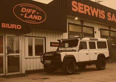 Land Rover Defender 110 TD5 2,5l 2003